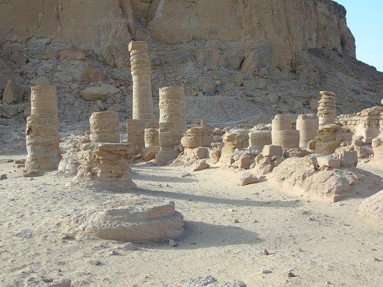 Karima, Sudan: ruiny świątyni Amona