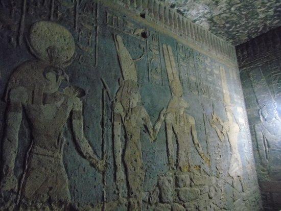 Karima, Sudan: freski w świątyni Mut