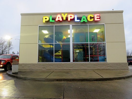 an indoor playplace at mcdonalds in the edgewood mall