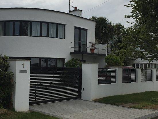Frinton-On-Sea, UK: Frinton Park Estate, modernist architecture