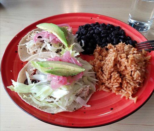 Williston, VT: Mole tacos