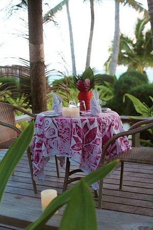 Titikaveka, Cook Islands: Restaurant