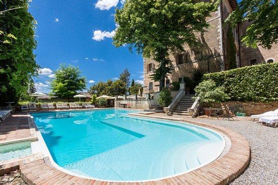 Pievescola, Italy: Pool
