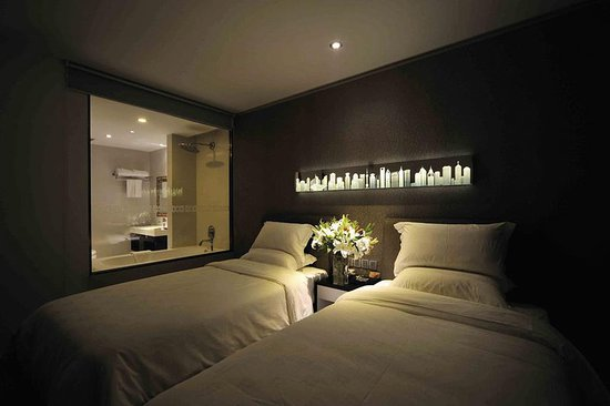 Kingtown Riverside Hotel Plaza Shanghai: Guest room