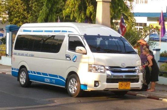 Koh Lanta to Krabi Town, Krabi Airport or Bus Terminal by Minivan...