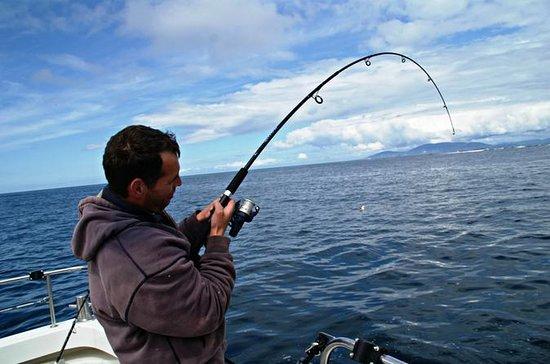 Pesca en mar profundo en Connemara...