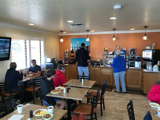 Santa Rosa, NM: Breakfast