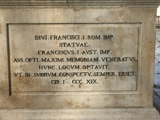 Denkmal Kaiser Franz I. Stephan von Lothringen