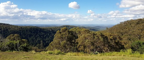 Bunya Mountains, Australia: View to the north from one of the walking tracks