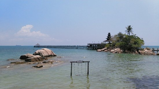 Beautiful beach resort in Batam
