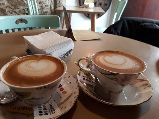 Excelente cafés del Tertulia en Santiago de Compostela