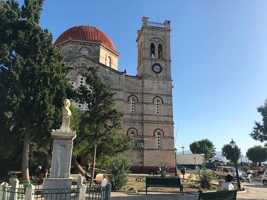 Aegina by, Grækenland: Ekklisia Isodia Theotokou Church exterior