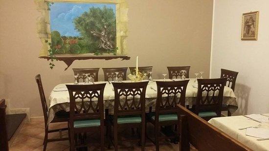 Monterosso Almo, Италия: Una delle sale del ristorante