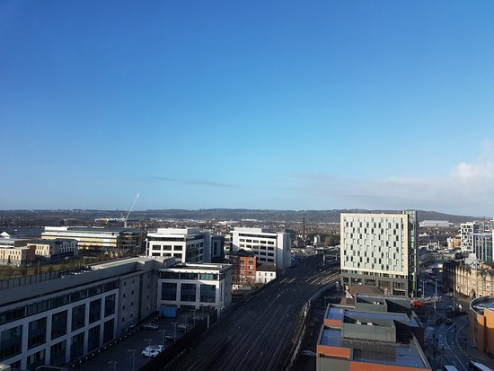Radisson Blu Hotel, Cardiff: The view from the room
