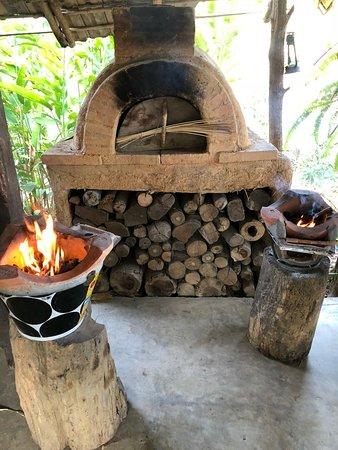 Bamboo Nest de Chiang Rai: grille pain et barbcue