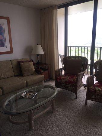 Darmic Waikiki Banyan: Living room