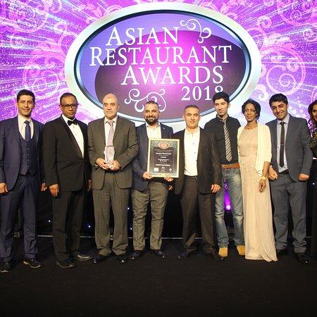 Prestwich, UK: Best Turkish Restaurant 2018 Award