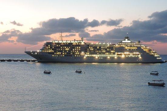 Suites Bahia: au coucher du soleil