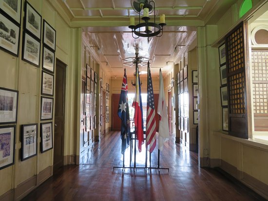 Hotel Alejandro: 歴史的な展示