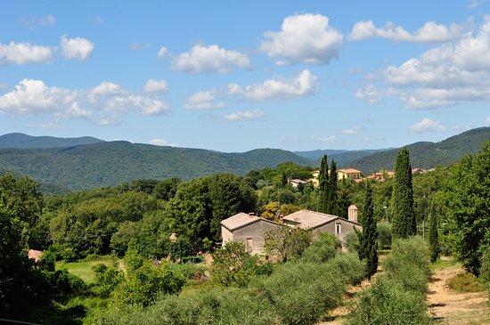 Monticiano, Itália: panorama