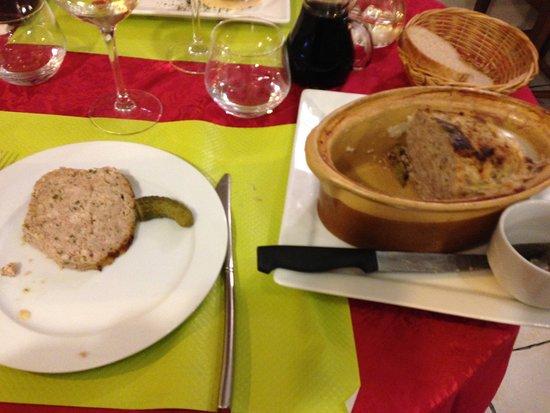 Quettehou, France: terrine de lapin du chef