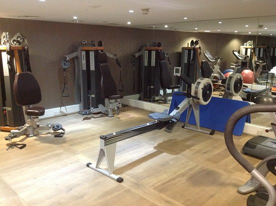 Blythswood Square: Fitness Room