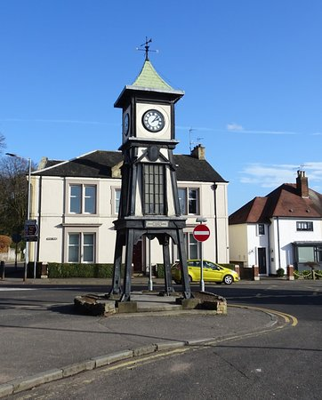 Tillicoutry Clock Tower: clock