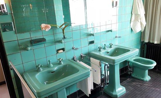 Badkamer van de ouders. foto van huis sonneveld rotterdam