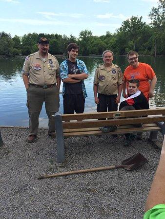 Webster Pond: Boyscout Troop $76