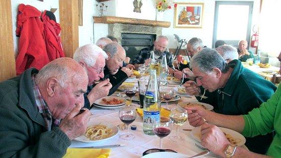 Accumoli, Italy: Grande abbuffata