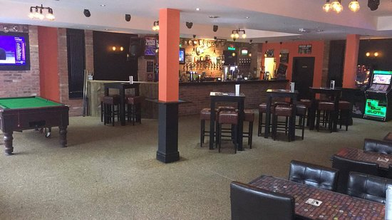 Hucknall, UK: Main Bar
