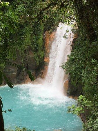 Tenorio Volcano National Park, Costa Rica: Waterfall