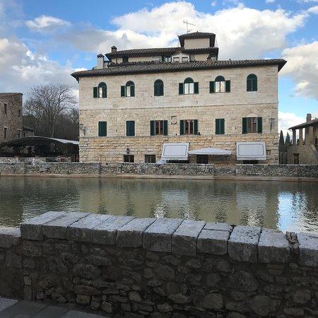 Vista dalla camera picture of albergo le terme bagno vignoni tripadvisor - Albergo le terme bagno vignoni ...