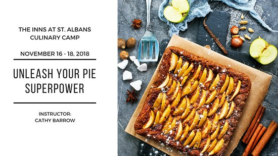 Saint Albans, MO : November 16-18 Culinary Camp - Unleash Your Pie Superpower