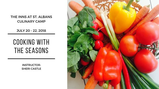 Saint Albans, MO: July 20-22, 2018 - Culinary Camp - Cooking with the Seasons.