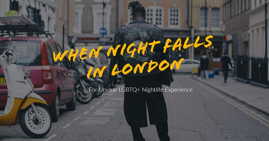 When Night Falls in London