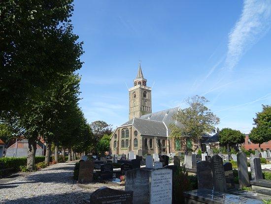 Rijnsburg, هولندا: Grote of Laurentiuskerk Rijnsburg uit 1133-1574-1578-1633;sept 2017 