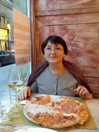 Osteria Del Gatto E la Volpe: Pizza Il Gatto E la Volpe