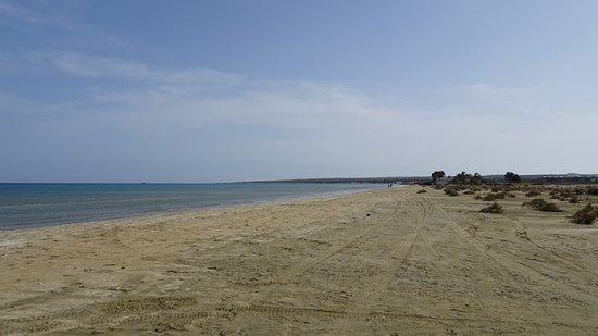 Lady's Mile Beach: Beach south