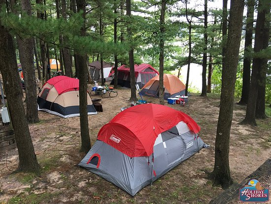 Holiday Shores Campground & Resort: Camping area