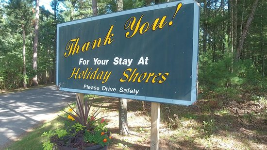 Holiday Shores Campground & Resort: Thank you for your stay!
