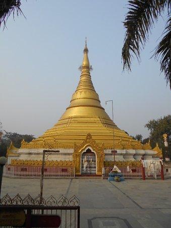 Myanmar Golden Monastery: Myanmars gåva till Buddhas födelseplats.