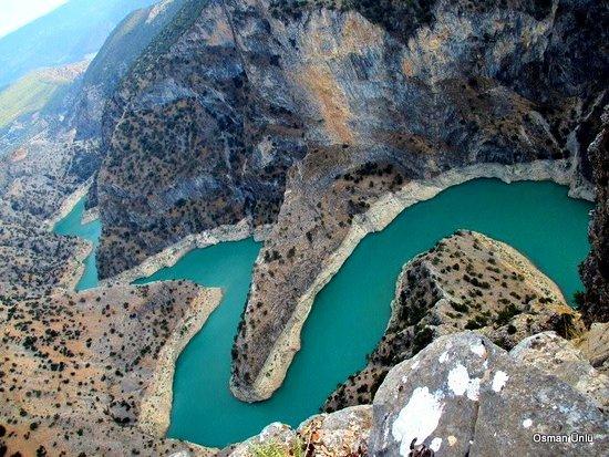 مقاطعة دنيزلي, تركيا: İnceğiz kanyonu kıvrımları