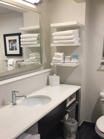 Hampton Inn New Orleans   St Charles Ave / Garden District: Spacious  Bathroom