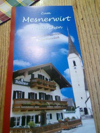 Neukirchen, ألمانيا: Mesnerwirt