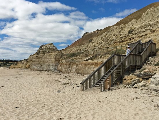 Port Willunga, Australia: Beach access
