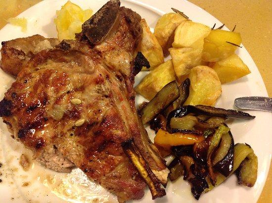 Vaglia, Italien: Lombatina di vitella