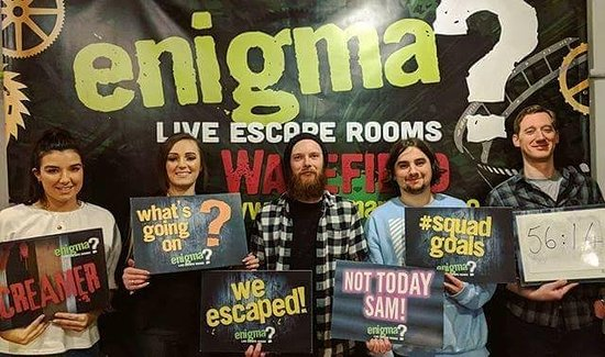 Enigma Rooms Wakefield