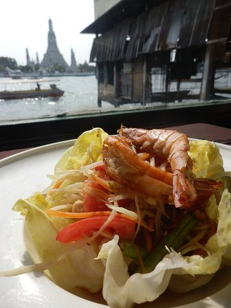 The Deck: salade de crevettes