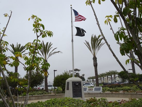 Dana Point, CA: Tribute to the armed forces